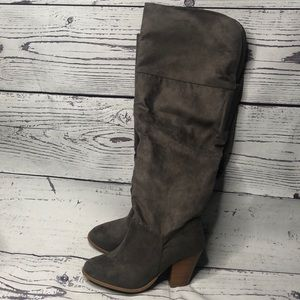 Lane Bryant Dark Gray Wide calf/WW boots